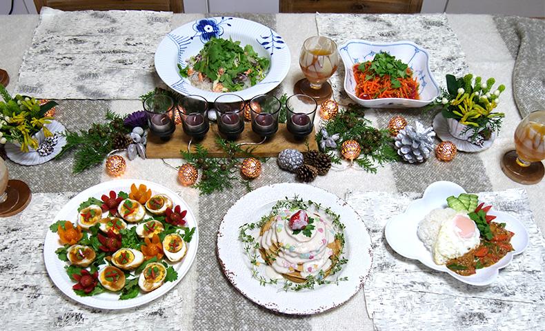 タイ料理で祝うクリスマスパーティー